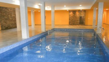 Access to the indoor heated swimming pool is subject to ...