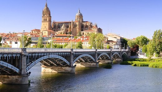 Discover the beautiful city of Salamanca in our central hotel.